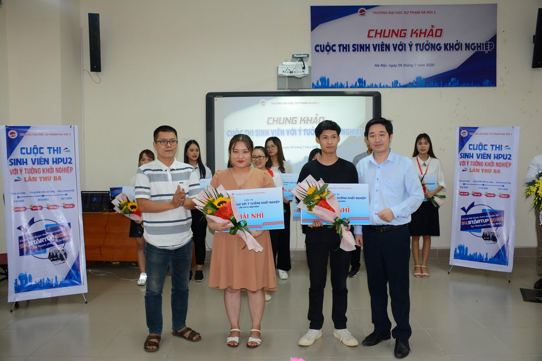 Chung khảo Cuộc thi Sinh viên HPU2 với ý tưởng khởi nghiệp năm 2020