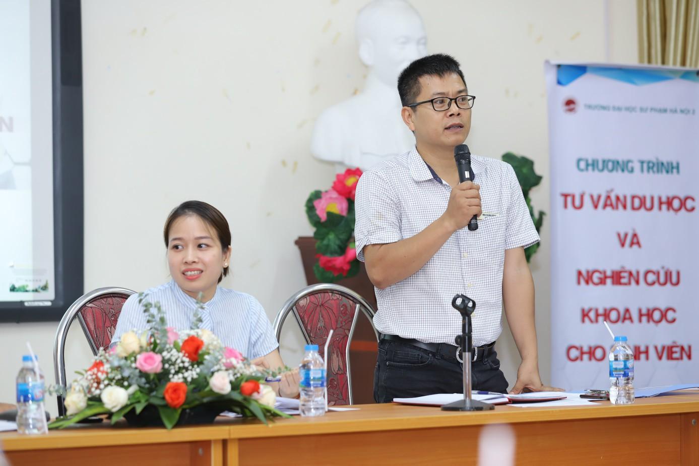 Trường Đại học Sư phạm Hà Nội 2 tăng cường tư vấn nghiên cứu khoa học và du học cho sinh viên