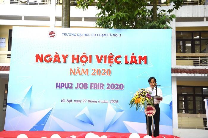 Hơn 1000 chỉ tiêu tuyển dụng tại Ngày hội việc làm Trường ĐHSP Hà Nội 2